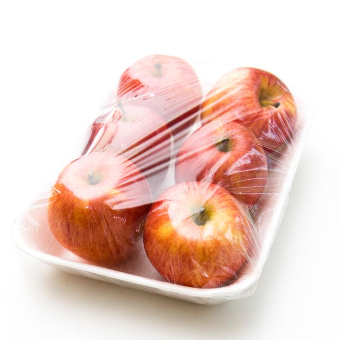 Aus Celluloseacetat werden umfreundliche, pflanzliche Plastikverpackungen für Lebensmittel.