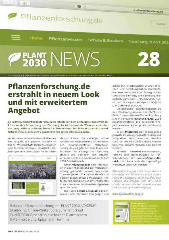 PLANT 2030 NEWS 28