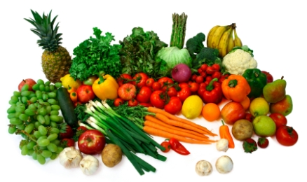 Gesundes Image - ökologisch angebaute Produkte.