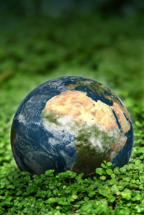 Umweltprobleme global betrachtet. (Quelle: © iStockphoto.com/ SciFX Animation Ltd.)