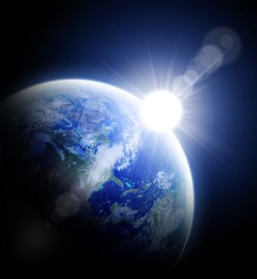 Müssen wir bald auf Raumstationen für den Anbau von Nahrungsmitteln ausweichen? Wissenschaftler arbeiten daran.