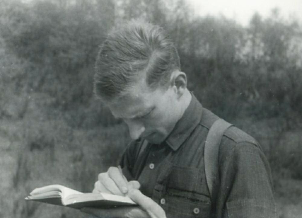 Auf Exkursion im Jahre 1962: Als Student begeisterte sich Ulrich Wobus für die Evolution und die Artenvielfalt von Insekten.