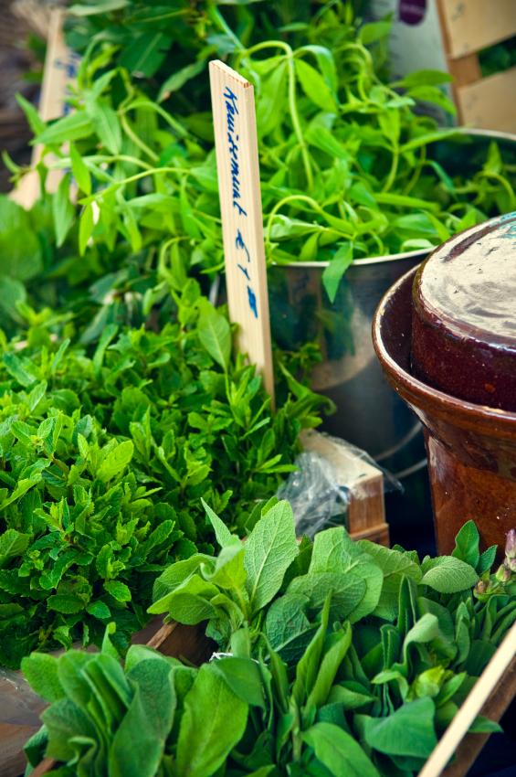 Wir nutzen Kräuter und Gewürze nicht nur zum Kochen, auch die Pharma- und die Kosmetikindustrie bedient sich aus der Natur.