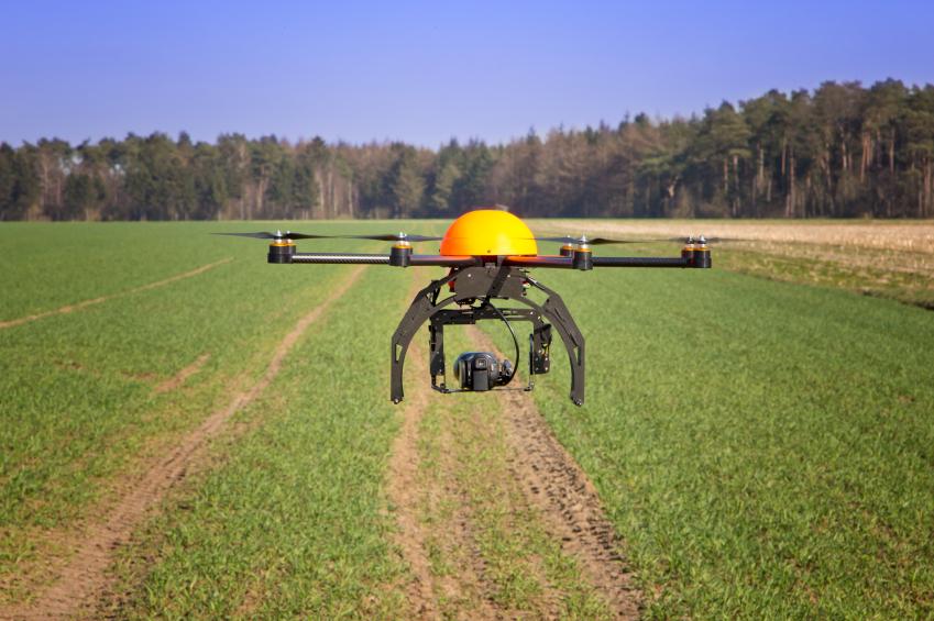 Drohnen fliegen über das Feld und liefern in Echtzeit Daten über das Pflanzenwachstum, die Fruchtreife, einen möglichen Pilzbefall oder die Bodenfeuchtigkeit. Die Geräte können auch Pestizide oder Eier von Schlupfwespen zur Bekämpfung von Krankheitserregern verteilen und finden somit in dem Pflanzenschutz eine direkte Anwendung.