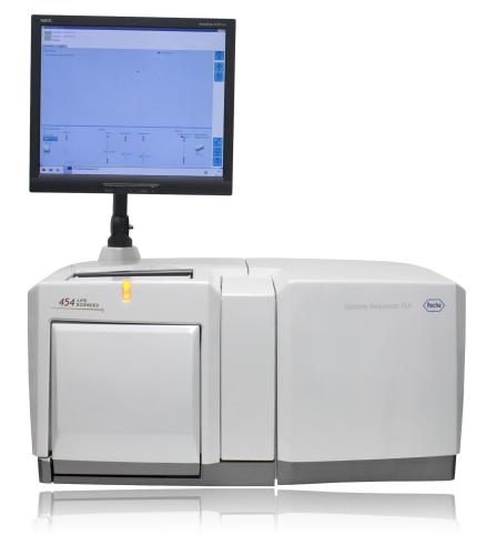 Sequenziergerät Genome Sequencer FLX.