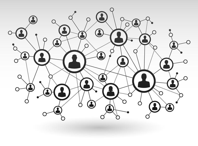 Manche Menschen können in sozialen Netzwerken Botschaften besser verbreiten als andere. Bei Proteinen in biologischen Systemen ist das genauso.