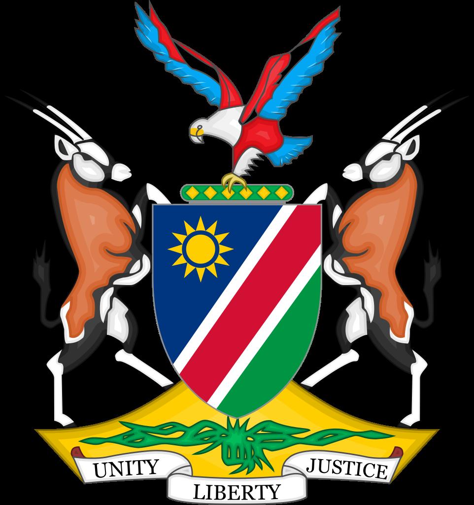 Eine Welwitschia hat es sogar bis auf das namibische Staatswappen geschafft. Sie steht in Namibia für Ausdauer und Widerstandskraft – Eigenschaften, die für die Namibier im Kampf um ihre Unabhängigkeit wichtig waren und auch heute noch gesellschaftlich sehr geschätzt werden.