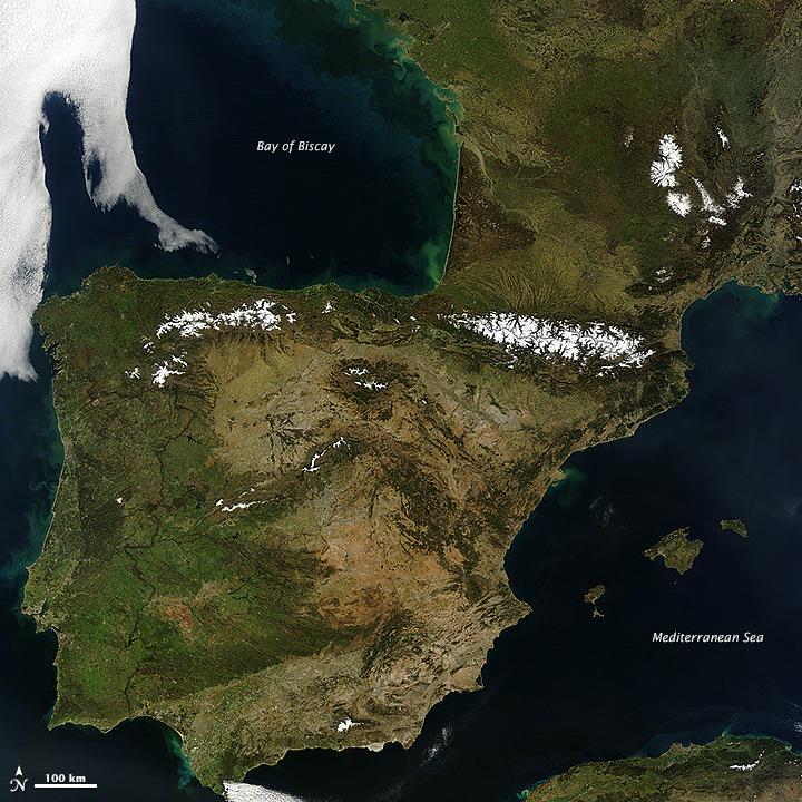 Besonders viele alte, voreiszeitliche und zugleich jüngere Linien tummeln sich auf der iberischen Halbinsel.