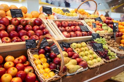 Vor allem Obst, Gemüse sowie Fleisch und Molkereiprodukte in Bio-Qualität sind ein Trend auf dem deutschen Markt.