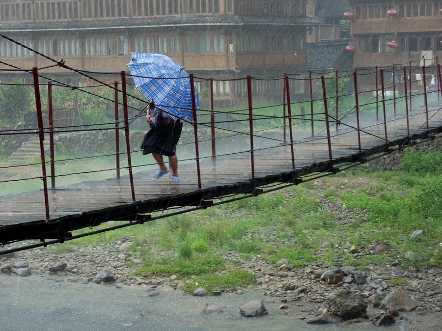 Ersehnt und gefürchtet gleichermaßen, der Monsun. Auch er steht unter dem Einfluss des Klimawandels (Bildquelle: © Dieter Schütz/ pixelio.de)