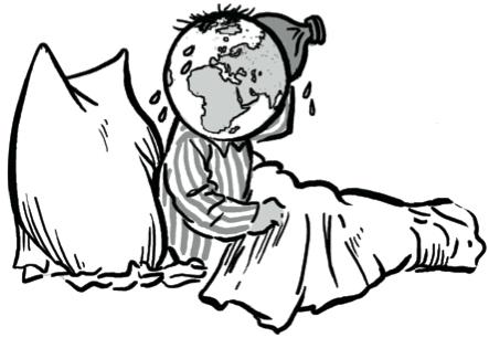 Die Erde hat Fieber. Der Comic erklärt die Folgen des Klimawandels und was wir dagegen tun können (Quelle: © Jacoby & Stuart)