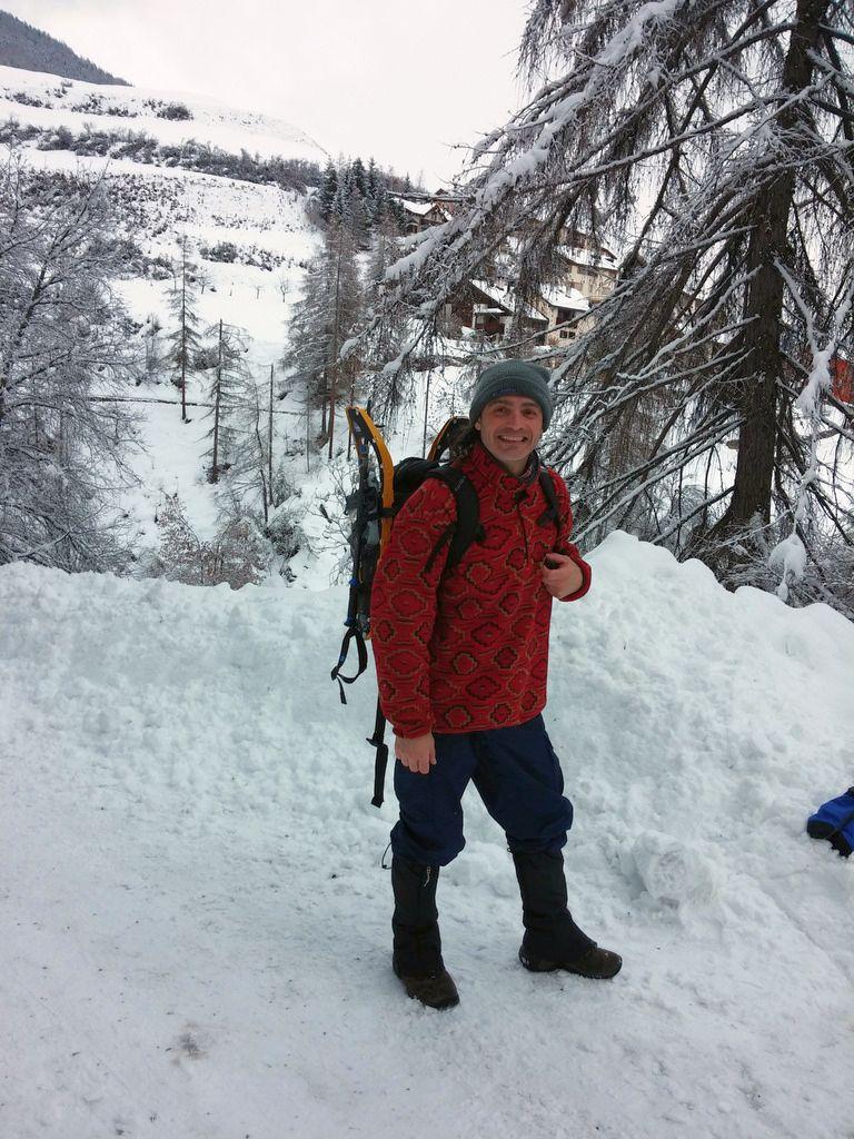 Heimat der Naturburschen: Auch der kanadische Wissenschaftler Tim Sharbel ist am liebsten draußen- egal bei welchen Temperaturen.