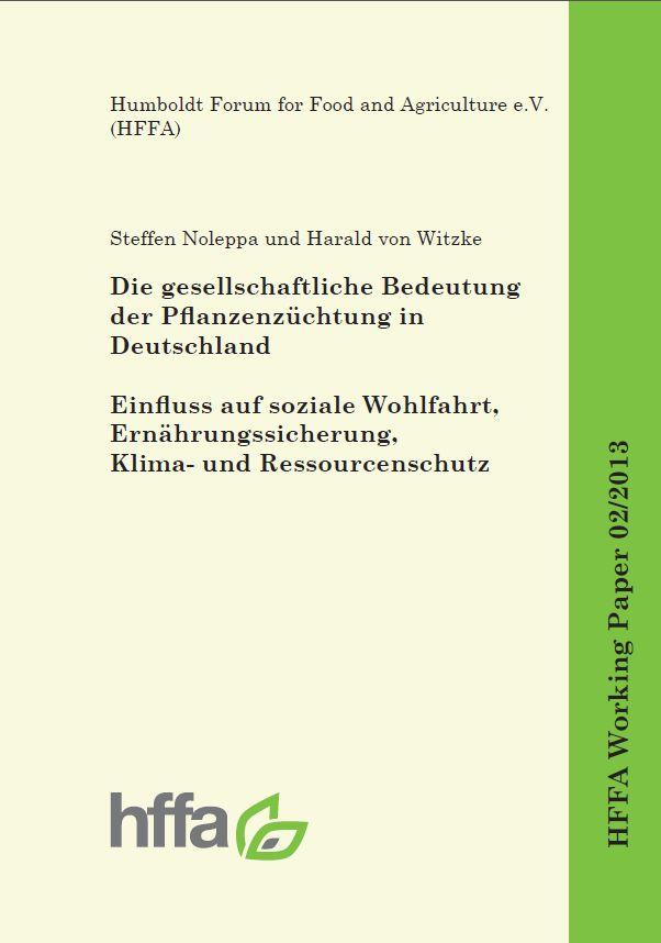Die Studie: Die gesellschaftliche Bedeutung der Pflanzenzüchtung in DeutschlandZum Download auf das Bild klicken.