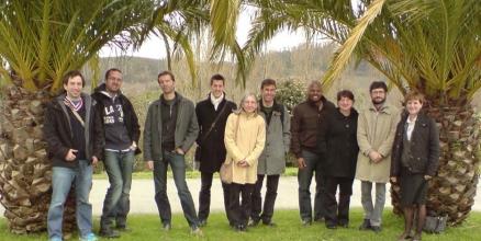 Das Forscherteam: Lutz Neumetzler, Marek Mutwil, Staffan Persson, Thibaut Douché, Elisabeth Jamet, Hugo Alonso, Michael Harrington, Elene R. Valdivia, Javier Sampedro