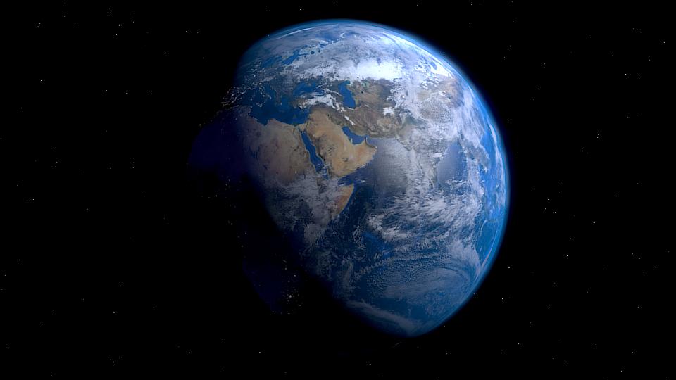 Die Erde besteht aus vielen zusammenhängenden Kreisläufen und Prozessen, in die der Mensch zunehmend eingreift. Mit gravierenden Folgen. (Bildquelle: © Tesseract2/ wikimedia.org/ CC BY-SA 3.0)
