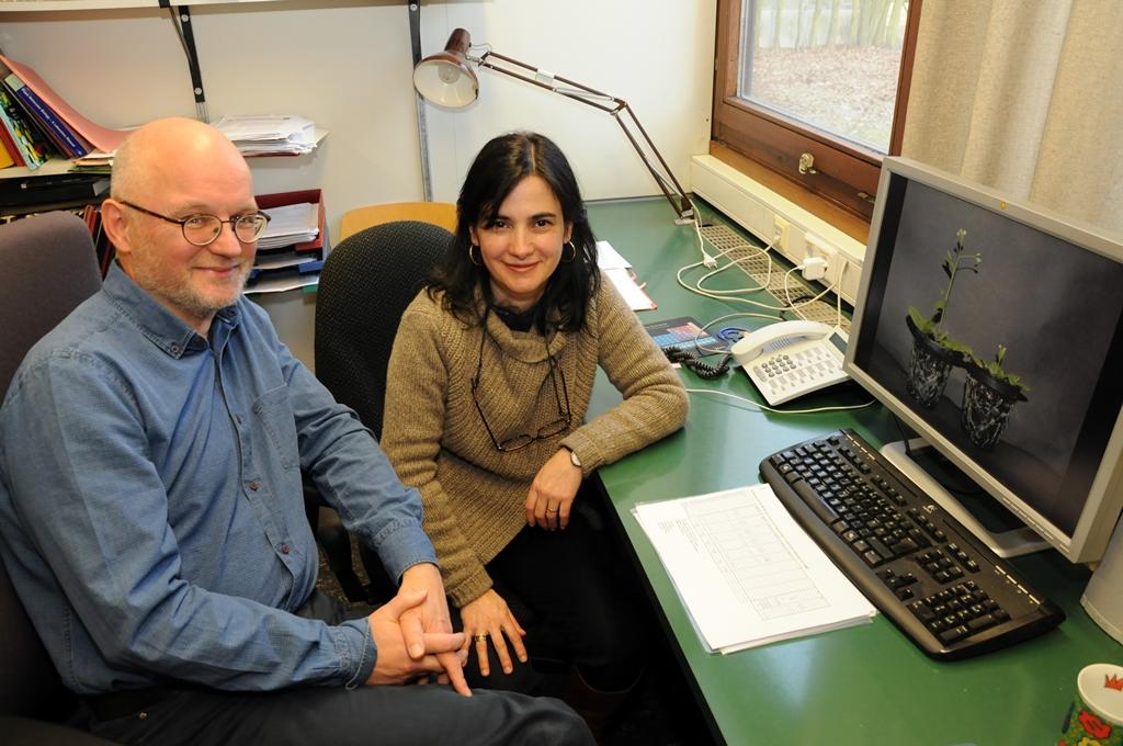 Die Entdecker: Prof. Dr. Theo Lange und Dr. Maria Pimenta Lange von der Abteilung Biochemie und Physiologie der Pflanzen am Institut für Pflanzenbiologie der TU Braunschweig.