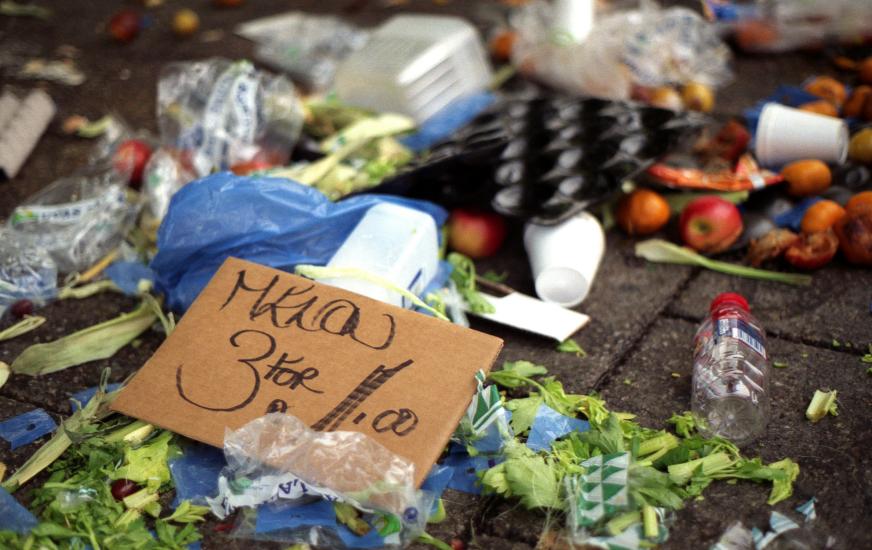 Zu viele Lebensmittel landen auf dem Müll.