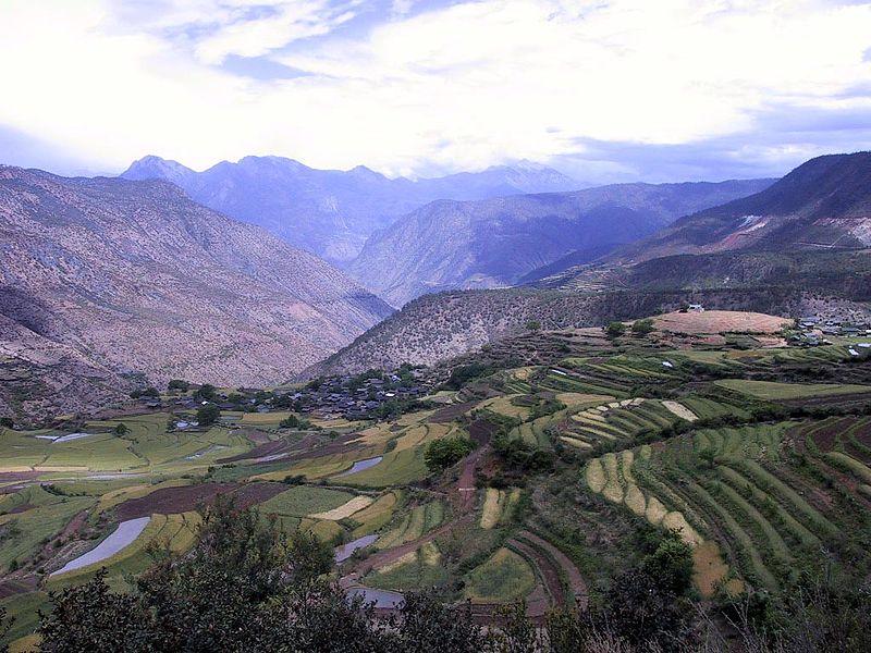 Das Anbaugebiet des Pu-Erh Tees: die Yunnan-Region im Süden von China, die im Einzugsgebiet des Monsuns liegt.