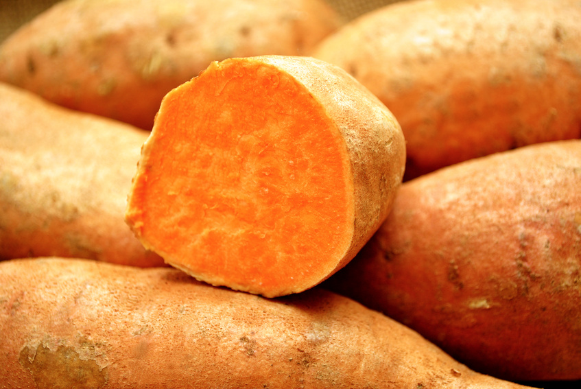 Bei der Süßkartoffel konnten Wissenschaftler eine natürliche Genmanipulation nachweisen. (Bildquelle: © Bill - Fotolia.com)