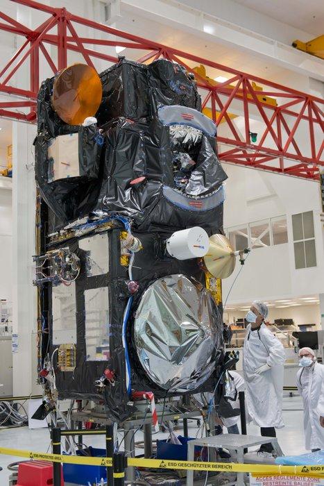 Ende 2015 wird der Erdbeobachtungssatellit Sentinel-3A seine Mission antreten. Seine Aufgabe wird es sein, die Ozeane zu erforschen.