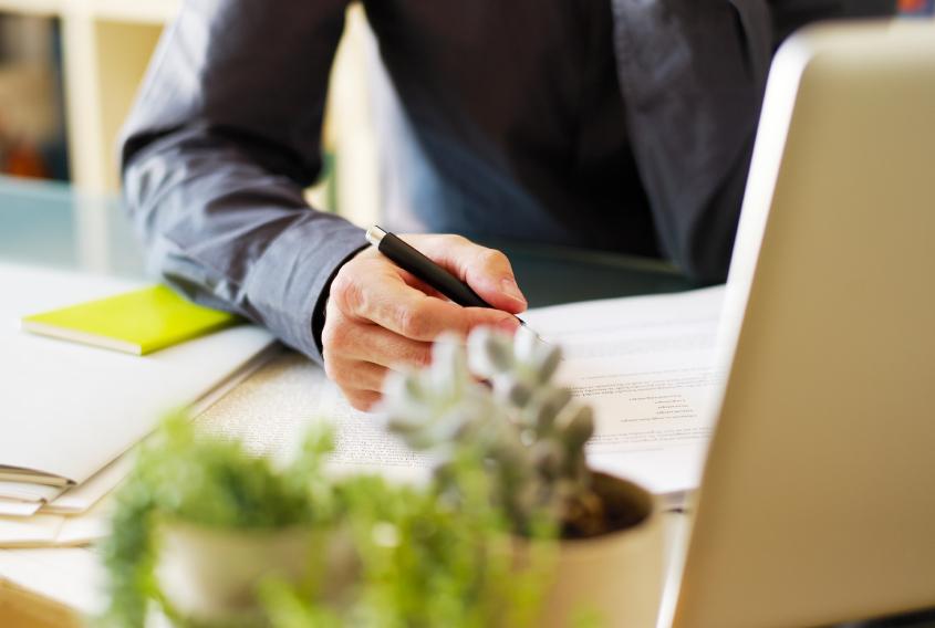 Zimmerpflanzen steigern bei Büroangestellten nicht nur das subjektive Wohlbefinden, sondern machen sie auch produktiver.